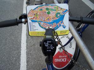 Bicicleta pública en Copenague